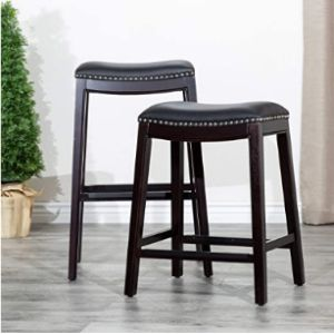 Dty Stool Leather Seat
