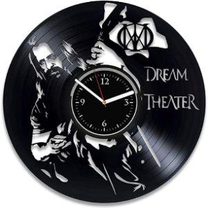 Clock Metal Music Girl