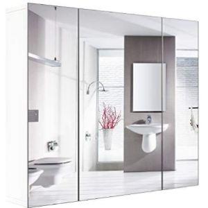 Homfa Bath Medicine Cabinet