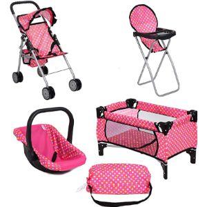 Fash N Kolor Toddler Toy Baby Stroller