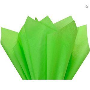 A1 Bakery Supplies Tissue Paper Green