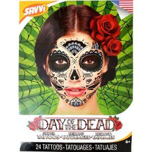 Savvi Skull Tattoo Template