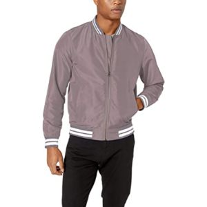 Amazon Essentials Bomber Jacket Mens Style