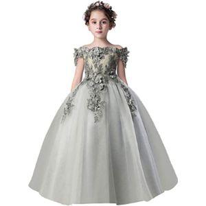 Misshow Flower Girl Ball Gown
