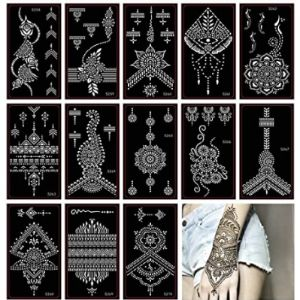 Xmasir Henna Tattoo Sticker