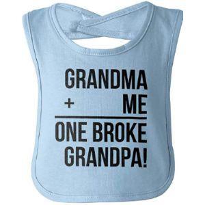 Brisco Brands Grandma Baby Bib