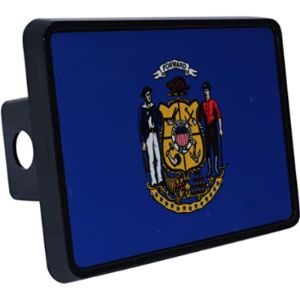 Rogue River Tactical Wisconsin Trailer Hitch Cover