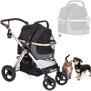 Hpz-Pr America Lightweight Dog Stroller