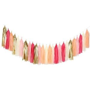 Fonder Mols Pink Gold Tassel Garland