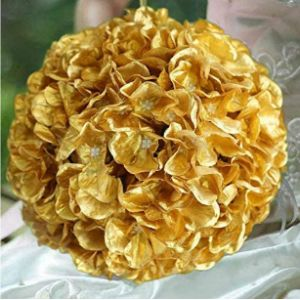 Visit The Efavormartcom Store Gold Flower Ball