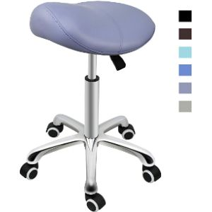 Grace & Grace Swivel Counter Stool With Back