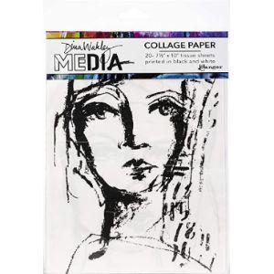 Ranger Collage Tissue Paper
