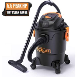 Tacklife Wet Dry Canister Vacuum Cleaner