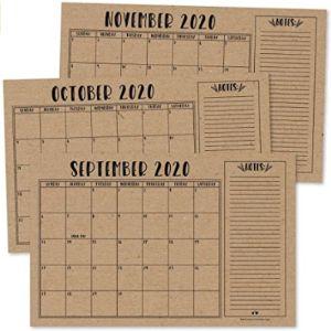 Visit The Hadley Designs Store Blank Desk Pad Calendar