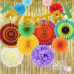 Changkai Tissue Paper Fringe Garland