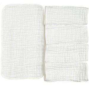 Loekeah Burp Cloth White