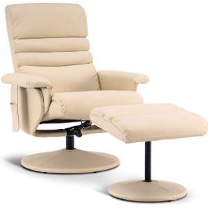Mcombo Swivel Chair Footstool