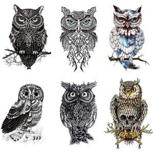 Finrray Design Owl Tattoo