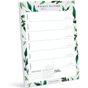 Bliss Collections Desk Calendar Notepad