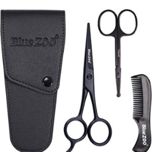 Bluezoo Mustache Beard Scissors