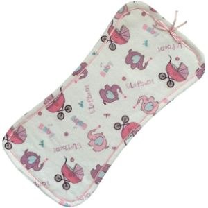 Pillowerus Burp Cloth With Ribbons