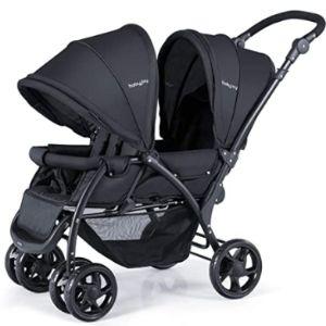 Baby Joy Lightweight Side Side Double Stroller