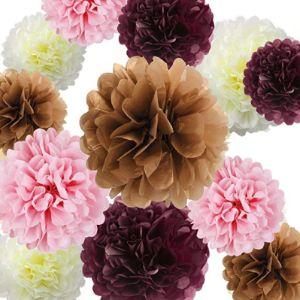 Fascola Tissue Paper Flower Rose