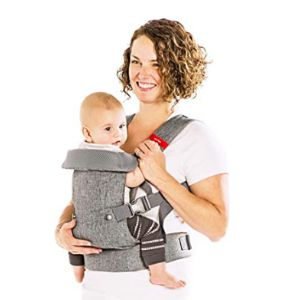 Youme Babybjorn One Black Mesh Baby Carrier