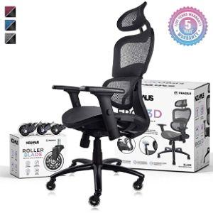 Nouhaus Adjustable Rolling Kitchen Chair