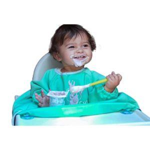 Vandelay Online Long Sleeve Toddler Bib