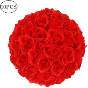 Amailtom Red Flower Ball