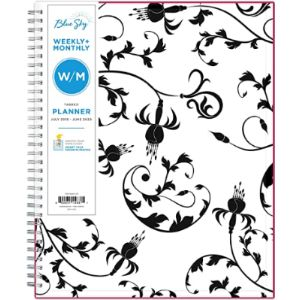 Blue Sky Monthly Calendar