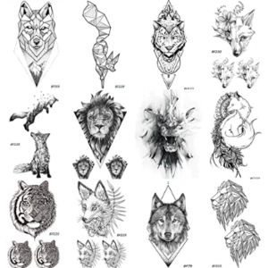 Coktak Lion Tattoo Design