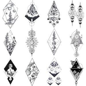 Visit The Coktak Store Tattoo Pattern Geometric