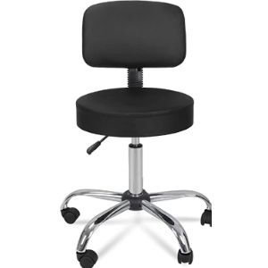 Zeny Swivel Counter Stool With Back