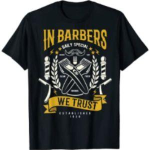 Vintage Barber Tees Vintage Barber Scissors
