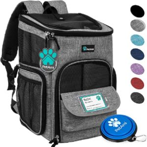 Petami Backpack Pet Carrier Airline Approved
