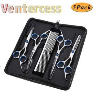 Ventercess Dog Grooming Scissors Set