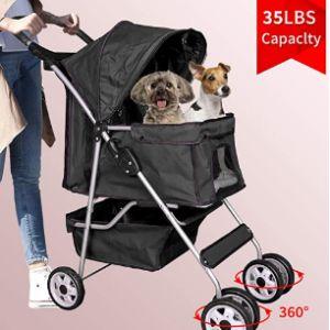 Bigacc Lightweight Dog Stroller