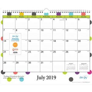 Blue Sky June Calendar 2019