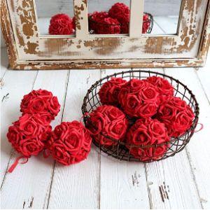 Idyllic Hanging Basket Flower Ball