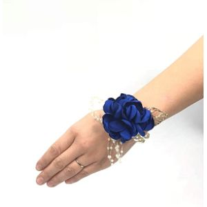 Abbie Home Royal Blue Flower Ball