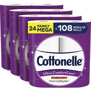 Cottonelle Brand Tissue Paper
