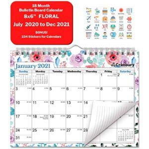 Cranbury Mini Calendar Size