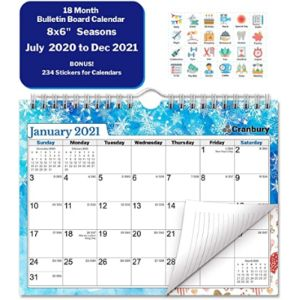 Cranbury Mini Year Calendar