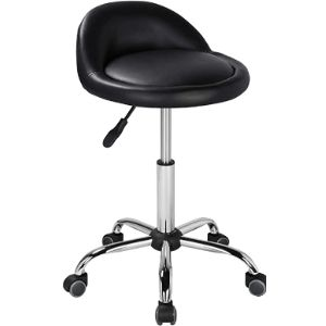 Yaheetech Swivel Counter Stool With Back