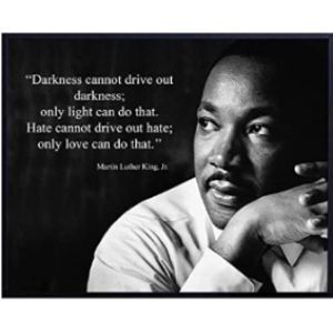Yellowbird Art & Design Martin Luther King Famous Quote