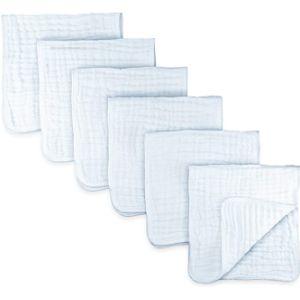 Comfy Cubs Burp Cloth White