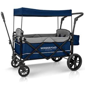 Wonderfold Lightweight Infant Toddler Double Stroller