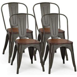 Costway Metal Stool Chair